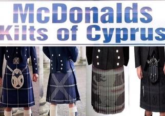 McDonalds Kilts of Cyprus