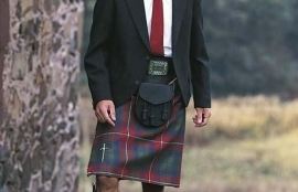 The Kinloch Anderson Day Kilt Jacket in Charcoal Grey Tweed Special Order - Day Kilt Jackets