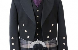 Prince Charlie Jacket with 5 Button Vest