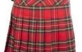 John Morrison Kiltmakers Women's Classic Scottish Tartan Deluxe Billie Kilt