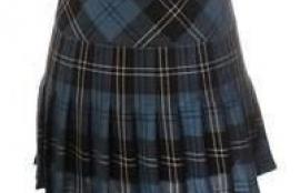 John Morrison Women's 12Oz Wool Scottish Tartan Billie Kilt