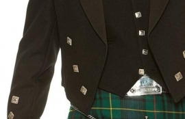 Prince Charlie 5 Button Waistcoat