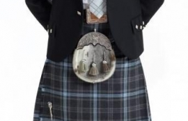 Argyle Traditional Kilt Outfit, with 8 Yard Kilt, Made in Scotland