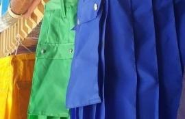 blue utility kilt