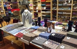 Kilt and cashmere -tartan scarf