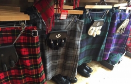 Kilts and Cashmere - Scottish kilts