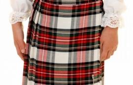 The Scottish Shop - tartan skirt