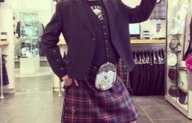 Kilt hire - Argyll kilt outfit