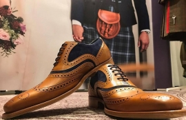 Kilt hire - ghillie brogues