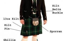 Kilt Outfit Accessories