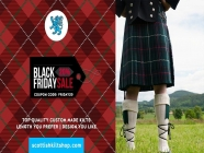 Scottish Kilt | Black Friday Sale 20% Off